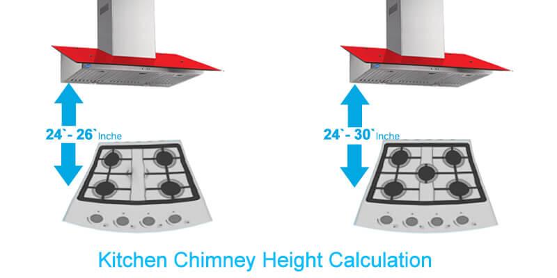 Kitchen-Chimney-Height-Calculation