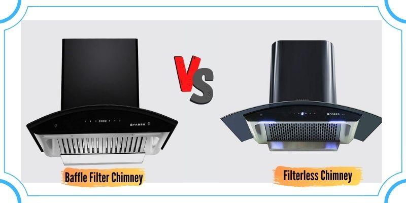 Baffle Filter vs Filterless Chimney